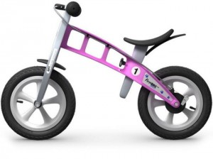 "Rowerek biegowy First Bike ""STREET PINK"""